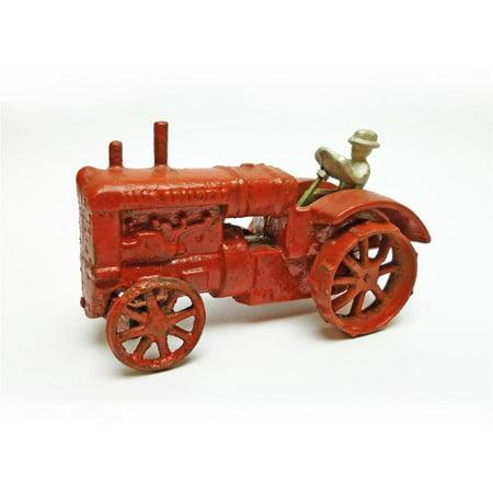 Allis Chalmers Replica Cast Iron Farm Toy Tractor