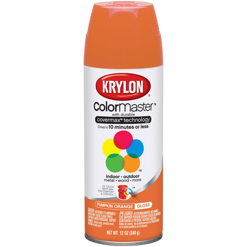 Krylon Colormaster Pumpkin Orange