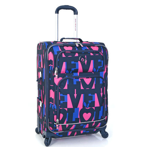 Double Dutch Club NYC Love 28'' Upright Spinner Suitcase