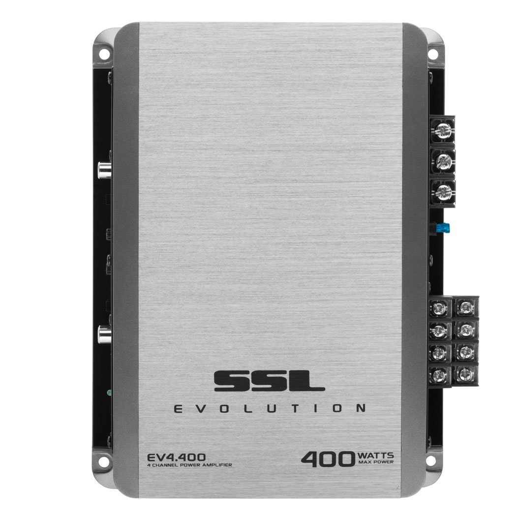 Soundstorm EV4.400 400W Evolution Series 4-Channel MOSFET Amplifier
