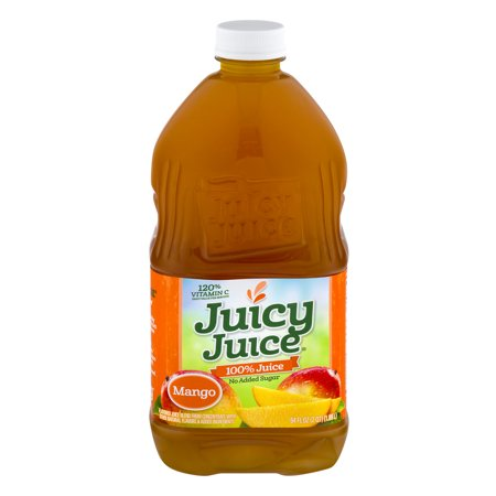 (8 Pack) Juicy Juice 100% Juice, Mango, 64 Fl Oz, 1