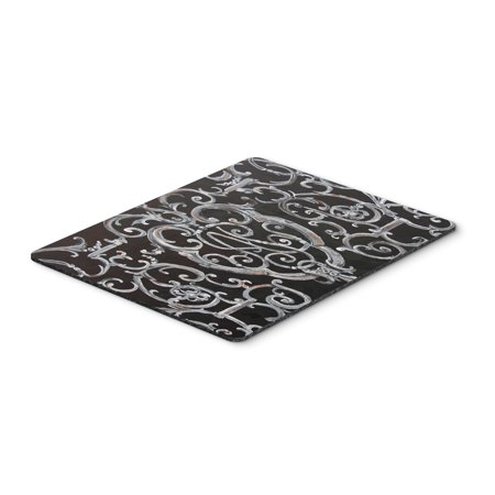 - Ironwork Fence Mouse Pad, Hot Pad or Trivet 8927MP