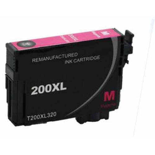 Universal Inkjet Premium Remanufactured Epson T200XL320/200XL Cartridge, High-Capacity Magenta