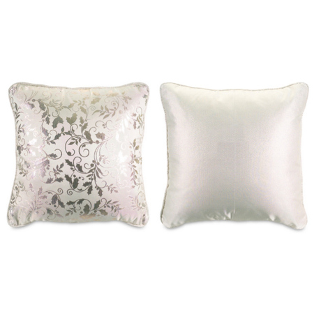 Ivory Holly - Pack of 4 Elegant Ivory Holly Throw Pillows 16