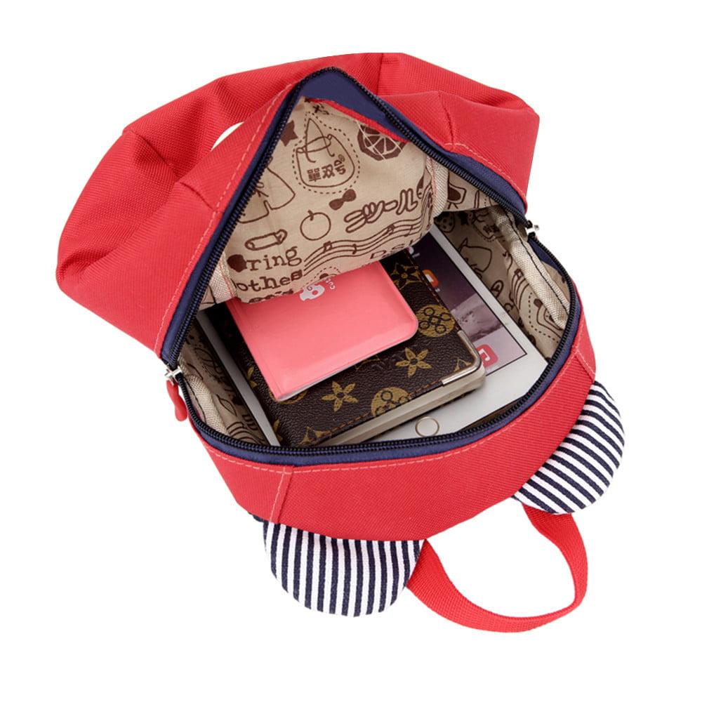 09894b7047be Mosunx Anti-lost Kids Baby Bag Cute Animal Dog Children Backpacks School  Bag Aged 1-3 - Walmart.com