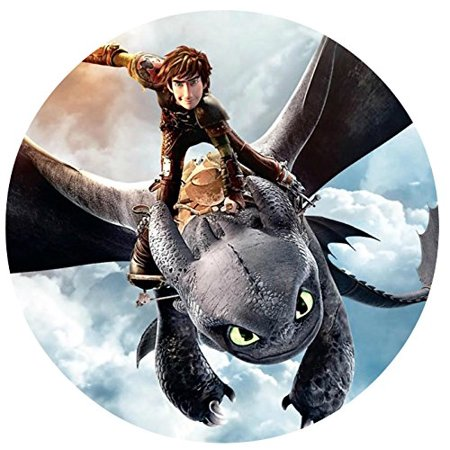 How to Train Your Dragon Edible Image Photo Cake Frosting Icing Topper Sheet Personalized Custom Customized Birthday Party - 8