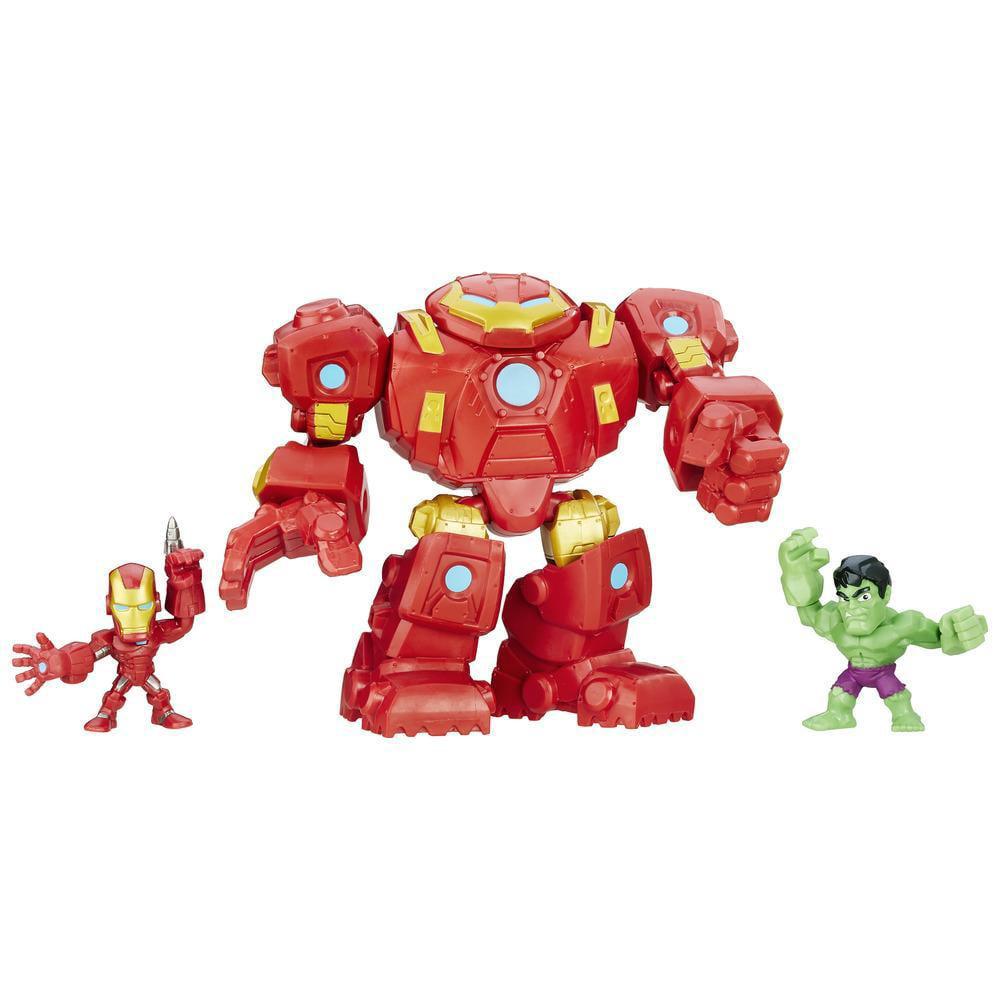 Marvel Super Hero Mashers Micro Series 2 Mini Figure Hulk Buster