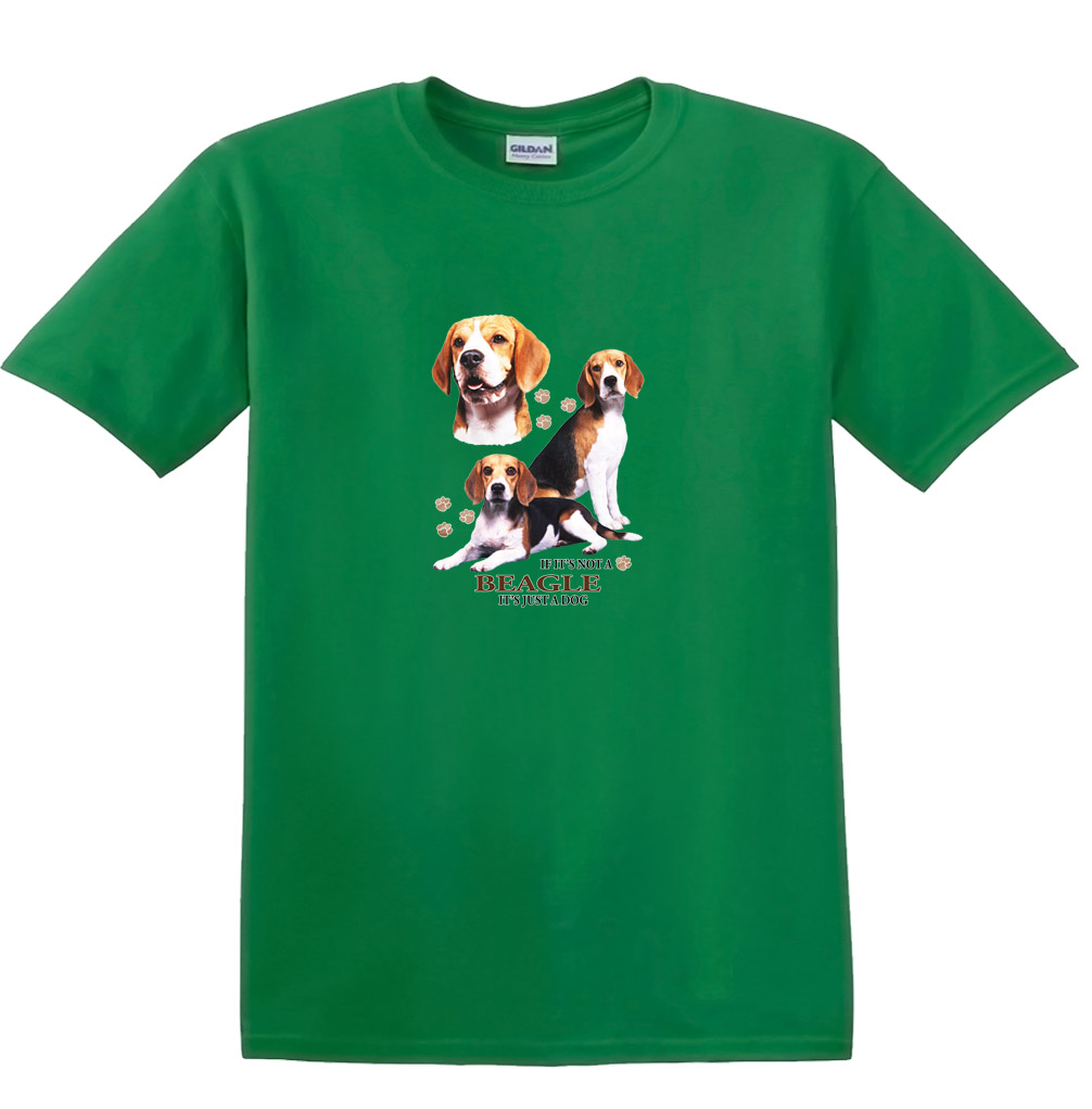 """TELL ME IT/'S /""""JUST A DOG/"""" Beagle ------ Child T Shirt Available Dog T Shirt"""