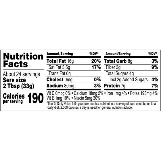 Jif Natural Creamy Peanut Butter 28 Ounce Walmart