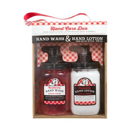 My Beauty Spot Hand Wash And Lotion Gift Set Apple Crisp 2pcs
