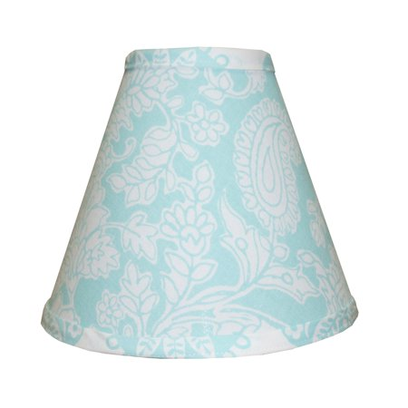 Sweet & Simple Aqua Blue Lamp Shade by Cotton Tale Designs