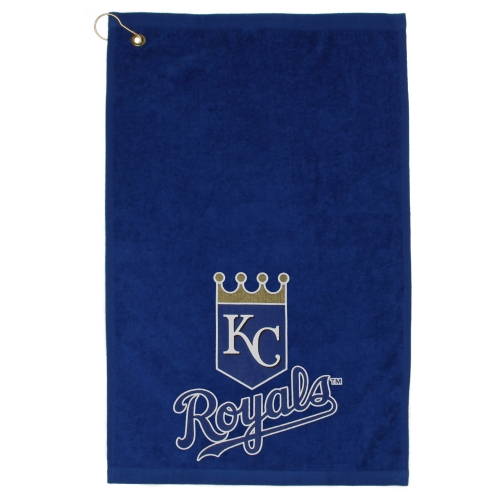 WinCraft Kansas City Royals 16'' x 25'' Sports Golf Towel - Royal Blue - No Size