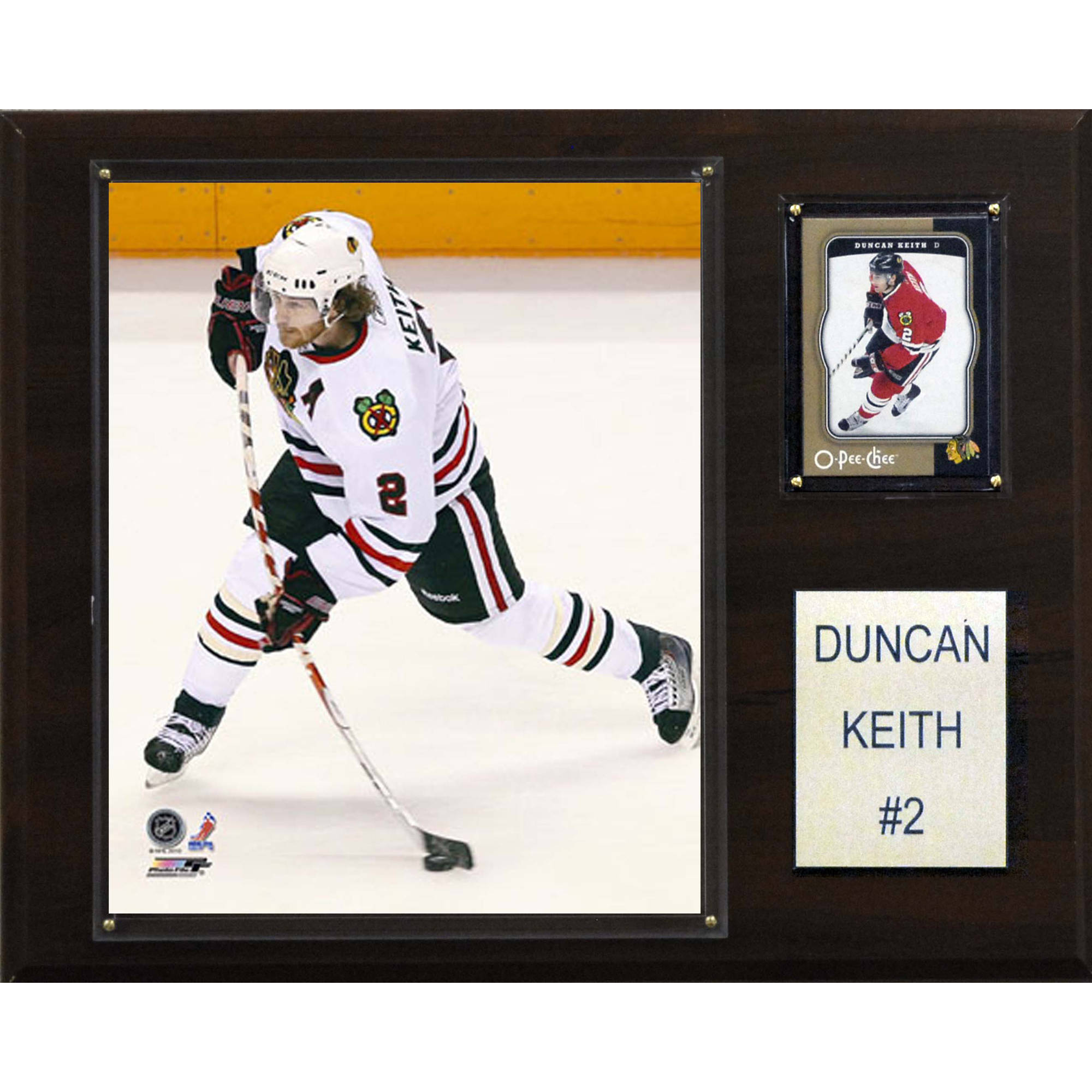 C&I Collectables NHL 12x15 Duncan Keith Chicago Blackhawks Player Plaque