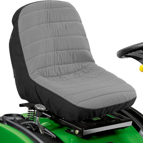 Riding Mower Garden Tractor Deluxe Seat Black Waterproof Low Back Universal