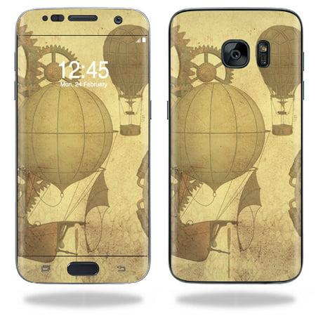 Skin Decal Wrap For Samsung Galaxy S7 Edge Case Steam Punk Pap