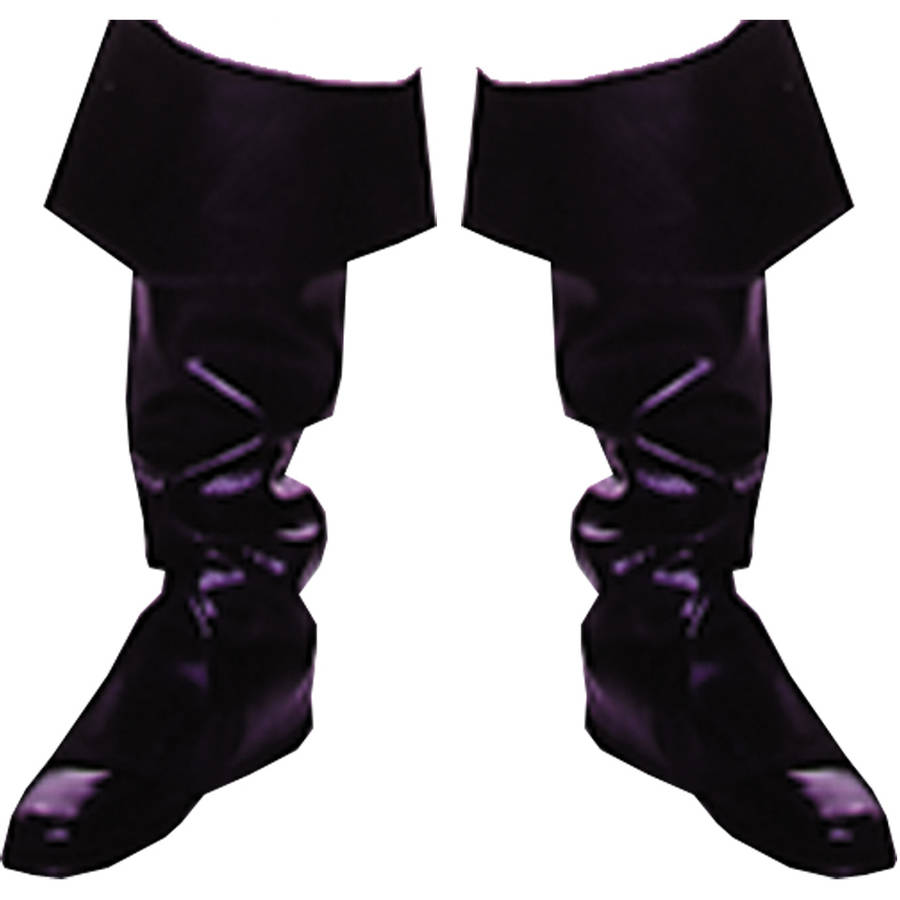 Pirate Boot Cover Adult Halloween Accessory