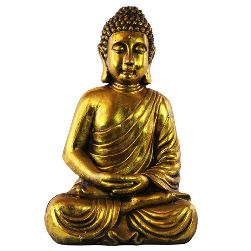 Urban Trends Resin Meditating Buddha Figurine