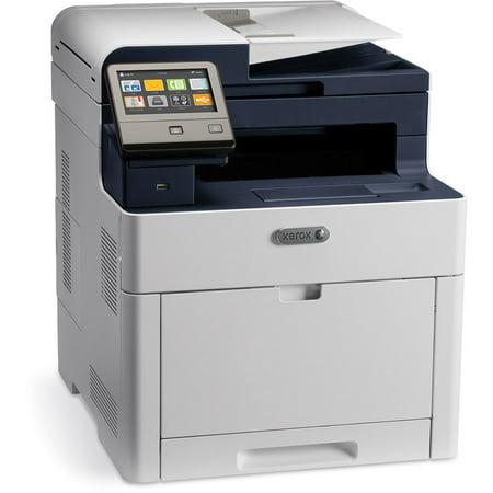Eltron Card Printers - Xerox WorkCentre™ 6515DNI 6515/DNI Color Laser Multifunction Printer - Refurbished By Xerox - 90 Day Xerox Warranty