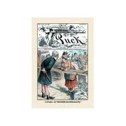 "Puck Magazine: Canada As Mother Mandelbaum"" Print (Unframed Paper Print 20x30)"