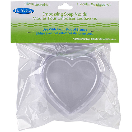 Life of the Party Soap Embossing Mold, 3pk