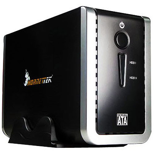 "Hornettek X2 USB 3.0 3.5"" Dual Bay External Enclosure"