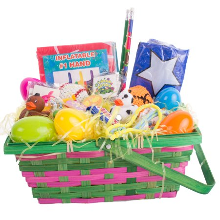 Easter Basket For Boys (Assorted Sports Theme Boys Filled 30pc 10