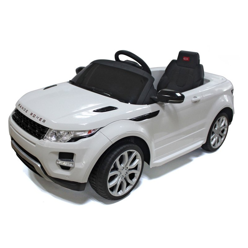 Vroom Rider Range Rover Rastar Battery Powered Riding Toy - White