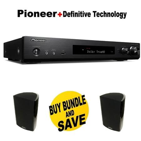 Pioneer Slim Audio Video Component ReceiverBlack VSX S520 Pair