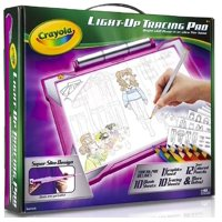 Crayola Light-Up Tracing Pad Pink Ages 6, 7, 8, 9,10