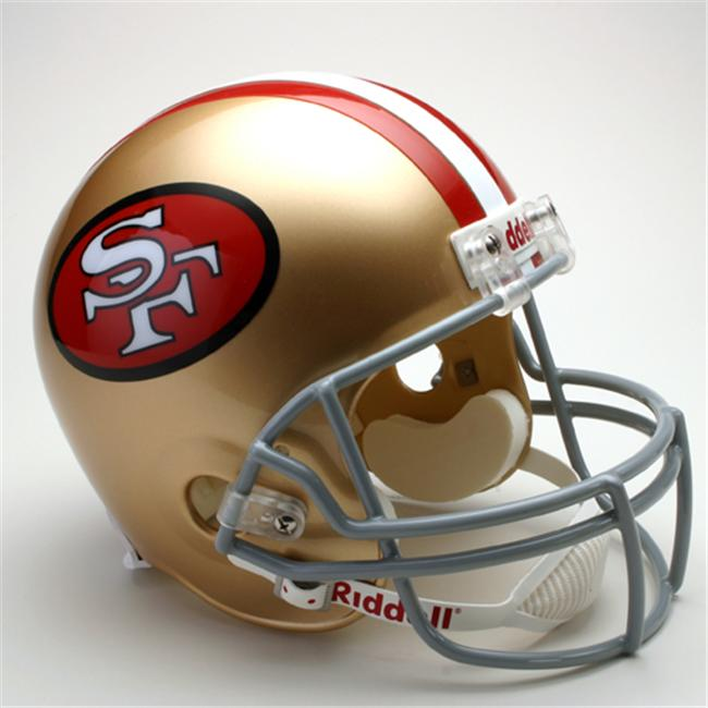 Creative Sports RD-SF49ersTB-R64-95 San Francisco 49ers 1964-1995 Throwback Riddell Full Size Deluxe Replica Football