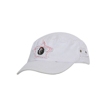 b0c717927de Distressed Che Guevara Patch Cadet Hat - White - image 1 of 2 ...