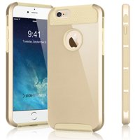 iPhone 6S Plus Case, Tekcoo(TM) iPhone 6S Plus / 6 Plus (5.5 INCH) [Shock Absorbing] [Scratch Proof] Impact Defender Slim Hard Case Cover Plastic Shell Outer +TPU Rubber Silicone Inner