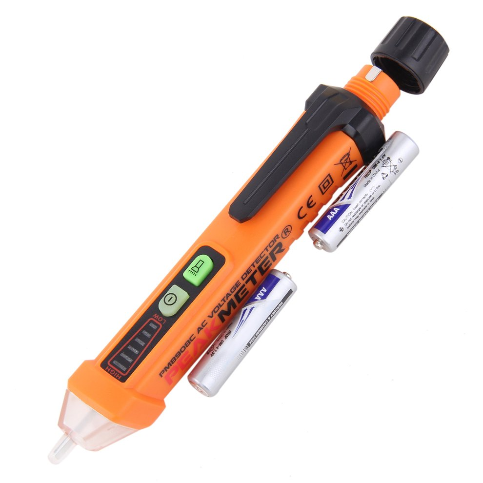 Non-Contact Voltage Detector 12V-1000V Voltage Tester Pen Electric Indicator