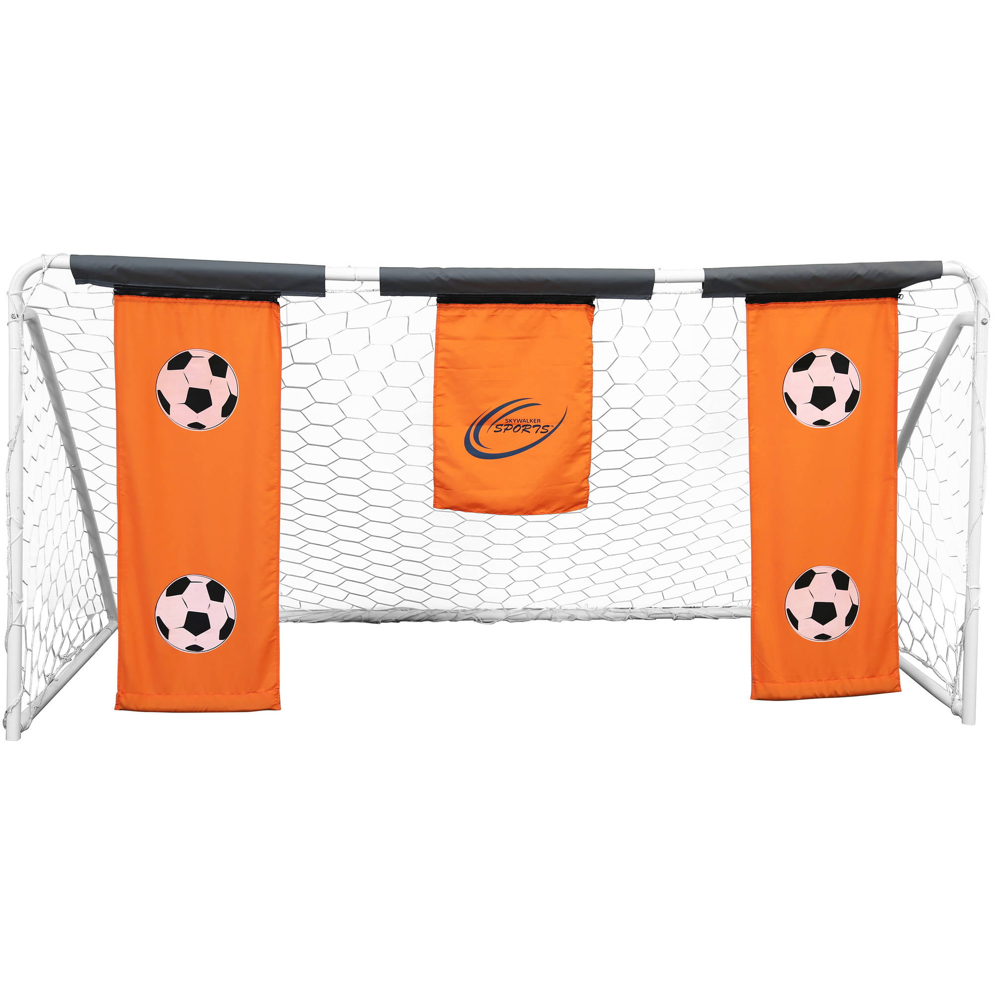 Skywalker Sports 9' x 5' Soccer Goal with Practice Banners by Skywalker Sports