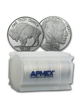 1 oz Silver Round - Buffalo (Lot, Roll, Tube of 20)