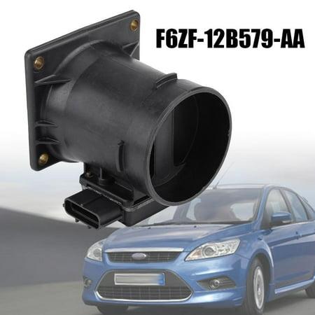 Qiilu Mass Air Flow Meter Sensor MAF for Ford F150 4.2L V6 1997-2008 F6ZF-12B579-AA,F6ZF-12B579-AA, MAF Sensor - image 7 of 13
