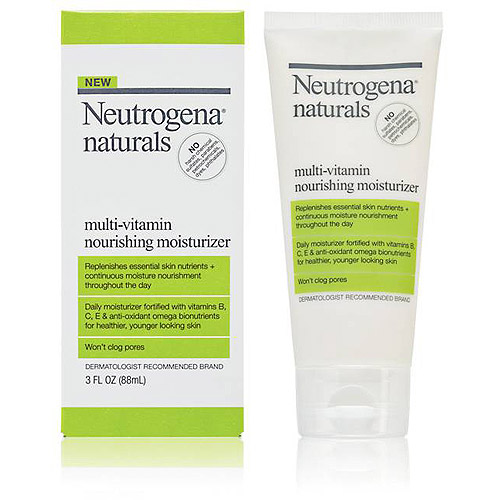 Neutrogena Naturals Multi-Vitamin Nourishing Moisturizer, 3 oz