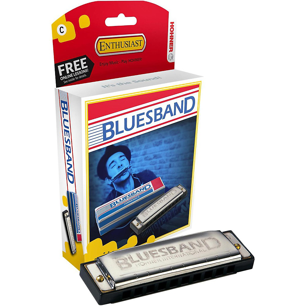 Hohner Blues Band Harmonica 1501 G