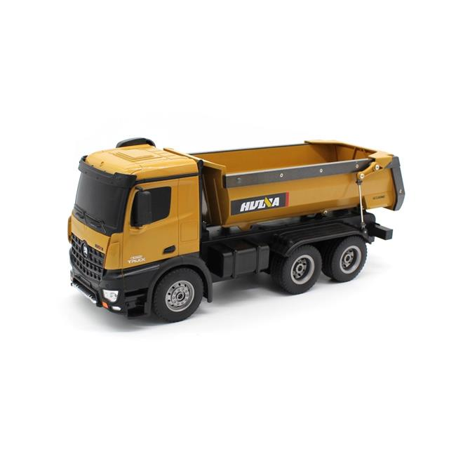 HUINA 1573 1:14 RC Truck 2.4GHz 10-CH Remote Control Dump Truck Model Toy