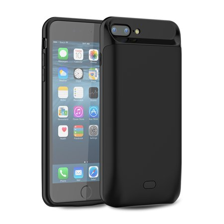 For iPhone 7 Plus / iPhone 8 Plus Battery Charger Case 7200mAh External Backup Charger Power Bank Protective Cover