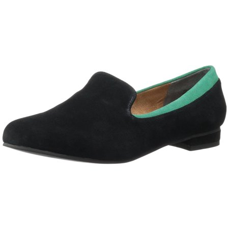Seychelles Best For Last Women's Black Suede Flat