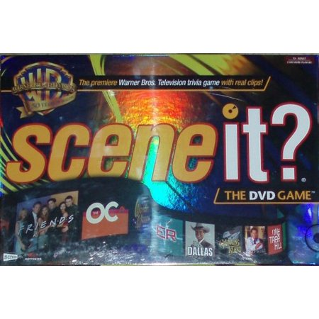- WB Warner Bros 50th Anniversary DVD Game with Real Clips on the Trivia, 50 years of Warner Bros TV packed into one DVD By Scene It