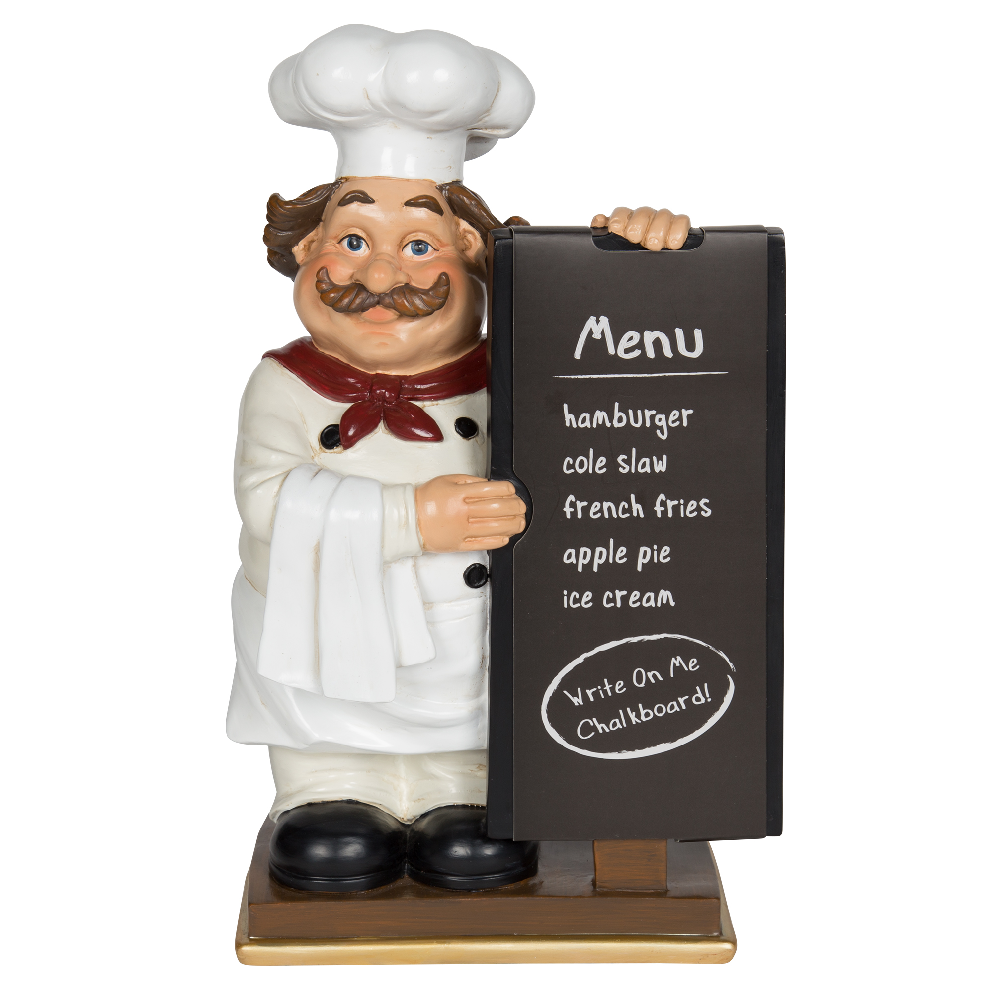 Tabletop Chef With Chalkboard