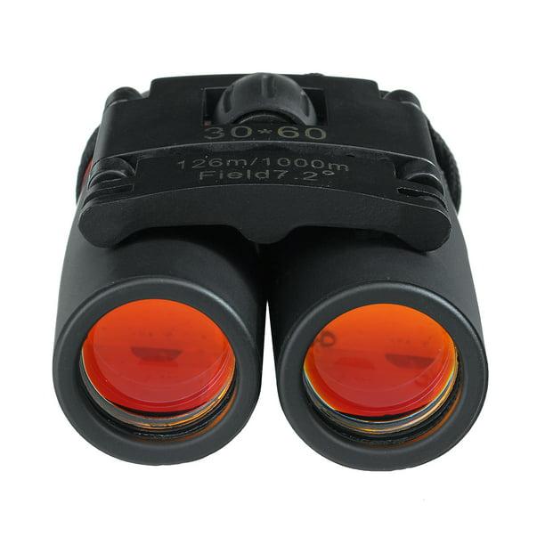 Outdoor Mini Binoculars 30x60 Zoom Mini Compact Binoculars Lightweight Portable
