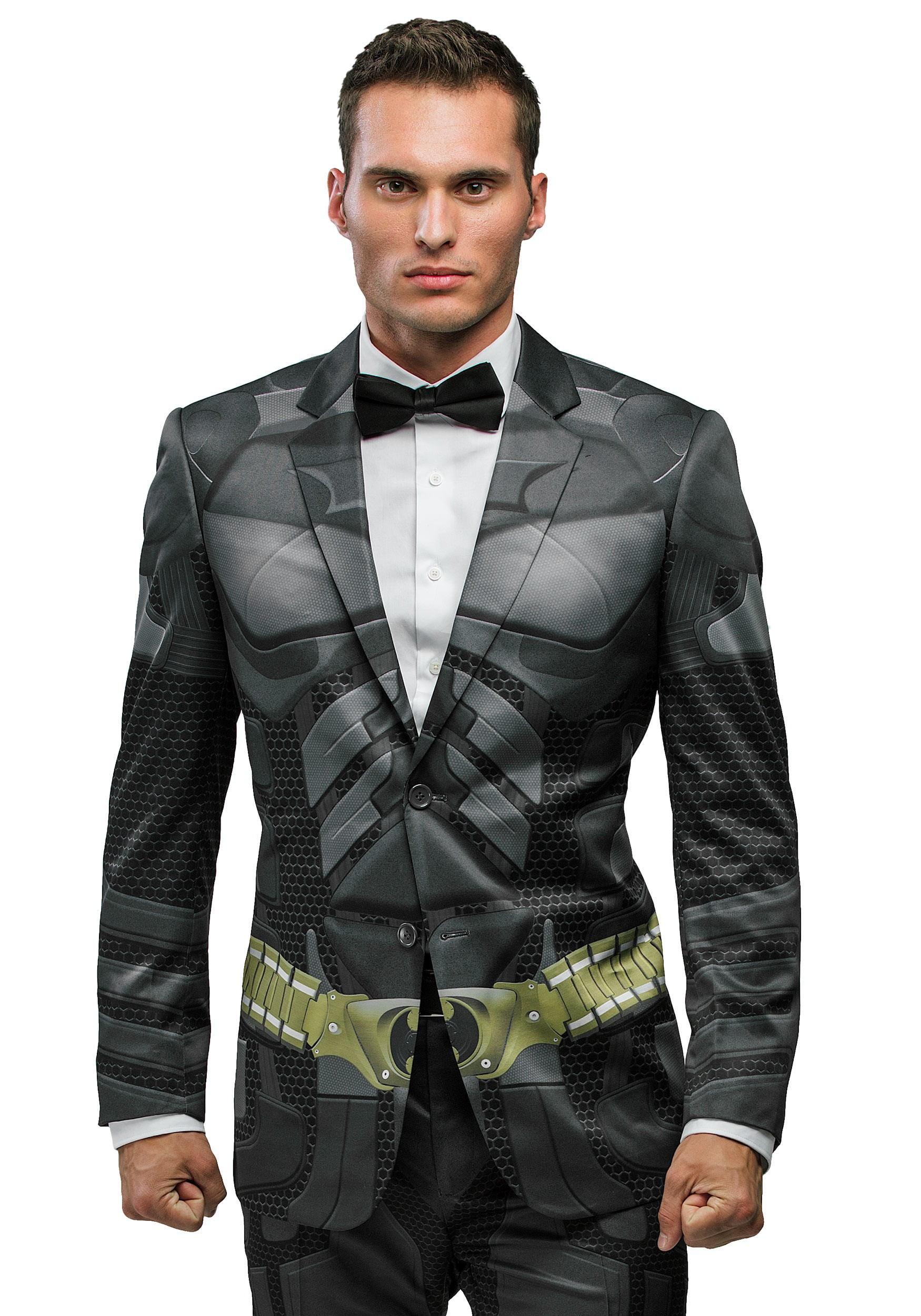 Batman Dark Knight Vest and Bowtie