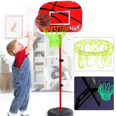 Glow In The Dark Outdoor Basketball Net Nylon Glowing Basketball Hoop Rim Net All Weather Thick Replacement Standard Size Net Rim Hoop Heavy Duty ()