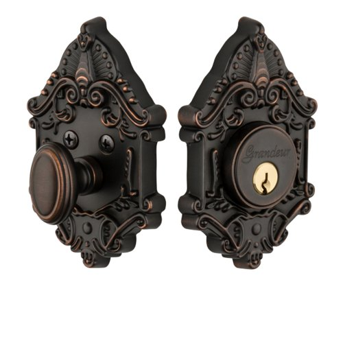 Grandeur Grande Victorian Single Cylinder Deadbolt