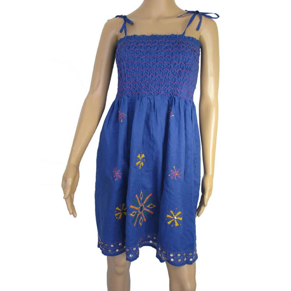 Antik Batik Womens 'Assini' Spaghetti Strap Sundress