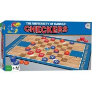 MasterPieces Kansas Jayhawkes Checkers
