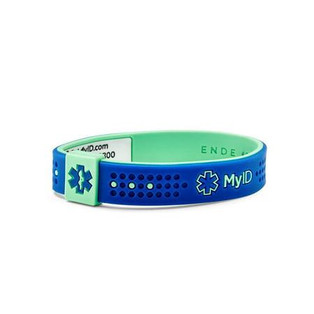 Myid Sport Medical Id Bracelet Online Profile Information System
